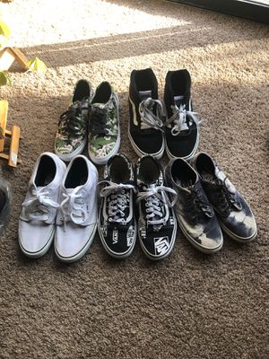 Vans shoes, location Puyallup for Sale in Puyallup, WA