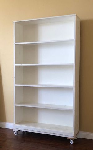 shelving unit on casters for Sale in Santa Monica, CA