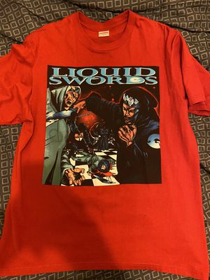Supreme Liquid Swords Size Medium (red) for Sale in The Bronx, NY