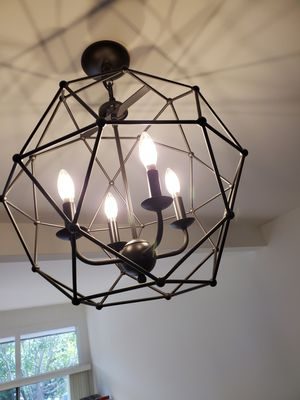4 light chandelier for Sale in Marina del Rey, CA