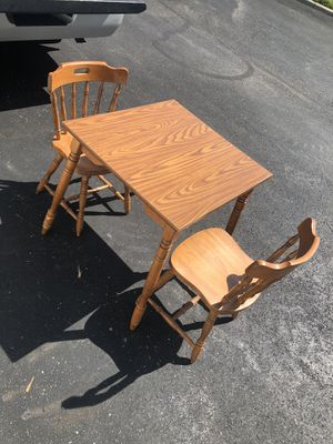 Two chairs and kitchen table for Sale in Dublin, OH