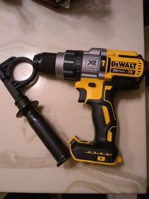 DeWalt 20 v XR brushlees hammer drill 3 speed tool only for Sale in Las Vegas, NV