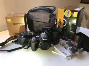Nikon camera D5500 for Sale in Fontana, CA