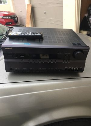 Onkyo receiver with remote for Sale in La Mirada, CA