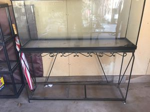55 gallon fish tank and stand for Sale in Midland, TX