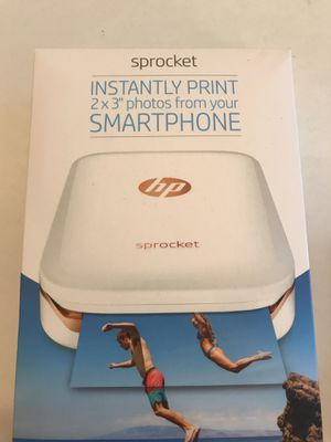 HP sprocket portable phone printer bundle kit for Sale in St. Louis, MO
