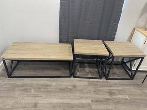 COFFEE TABLE & 2 END TABLES for Sale in San Leandro, CA