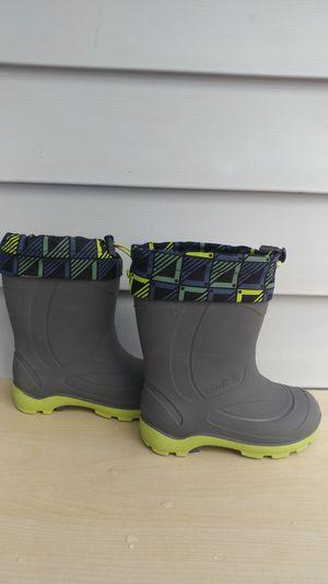 Kamik kids snow/ rain boots size 10 for Sale in Everett, WA