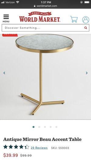 Antique mirror accent table for Sale in Phoenix, AZ