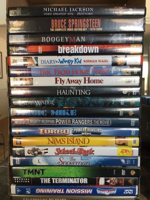 DVDs - Excellent Condition for Sale in Phoenix, AZ