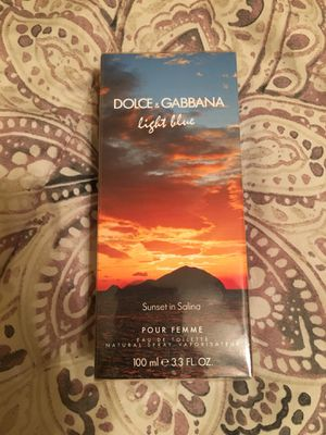 Dolce & Gabbana Light Blue Sunset in Salina Perfume for Sale in Baltimore, MD