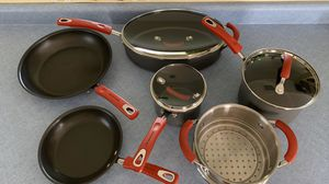 Rachael Ray non-stick hard ionized pans for Sale in Lake in the Hills, IL