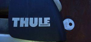 Thule ski roof rack holders surfboard for Sale in Victorville, CA