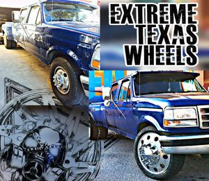 DUALLY WHEELS SEMI CONVERSION KITS 22'S AND 24'S for Sale in Houston, TX