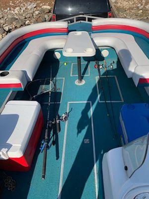 1995 Lowe 22' Deckboat w/ 115HP Johnson Outboard 4-Stroke Engine for Sale for sale  Stone Mountain, GA