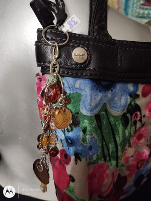 Brown Amber Dangle Fob Key Chain Purse Bookbag for Sale in Walbridge, OH