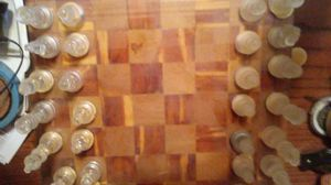 Chess board and pieces for Sale in Dixon, MO
