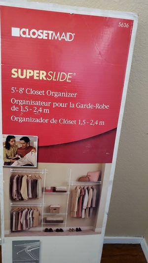 Brand new still in box closet organizer for Sale in North Las Vegas, NV
