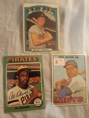 15 vintage baseball cards for Sale in Groveport, OH