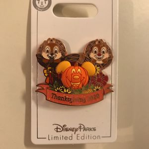 Disney 2020 Thanksgiving Pin for Sale in Kissimmee, FL
