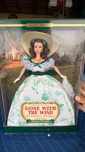 Scarlett O'Hara Barbie Doll Timeless Treasures Gone with the wind for Sale in Garden Grove, CA