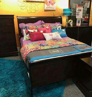 Full size bedroom set for Sale in Las Vegas, NV