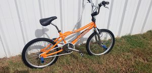 Awesome oldschool orange gt performer bmx freestyle bike gyro pegs great xmas gift for Sale in Virginia Beach, VA
