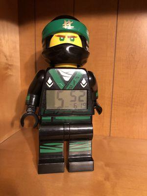 Lego Ninjago Lloyd alarm clock ( rare) for Sale in Reedley, CA