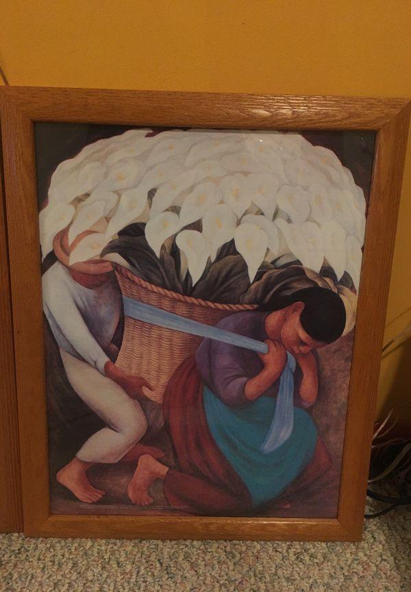 Diego Rivera framed prints