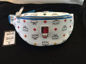 100% AUTHENTIC MCM FANNY PACK WAIST BAG SMALL for Sale in Pasadena, CA