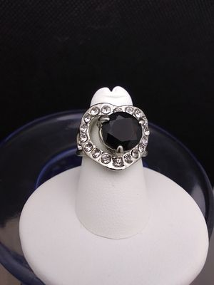Jeweled Heart Fashion Ring Size 6.5 for Sale in Grove City, OH