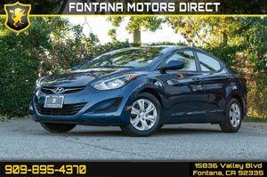 2016 Hyundai Elantra for Sale in Fontana, CA