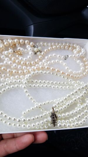 FRESH WATER PEARLS NECKLACE LOT for Sale in Springfield, VA