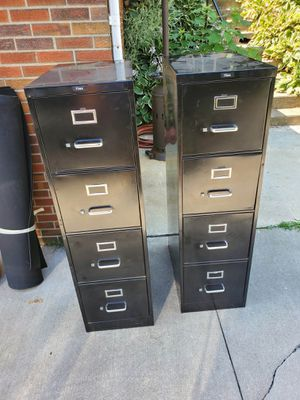 4 Drawer File Cabinets One for $20 or both for $35 for Sale in Wadsworth, OH