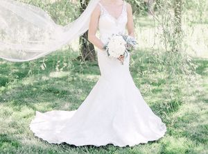 Justin Alexander wedding dress / gown for Sale in Charlotte, NC