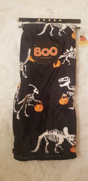 Dinosaur Skeleton Throw Blanket for Sale in Houston, TX