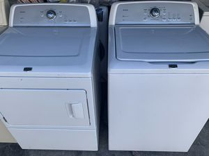 Washer and electric dryer for Sale in Hayward, CA