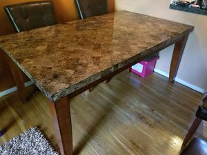 Marble dining table for Sale in Rockville, MD