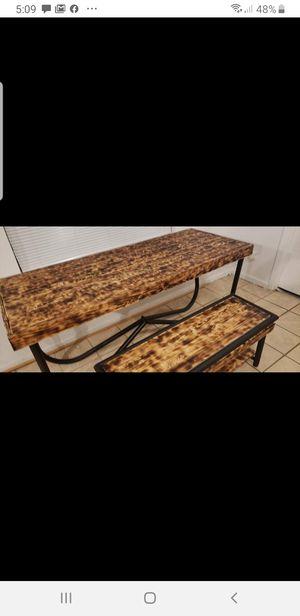 Custom wood burnt table for Sale in Roanoke, VA