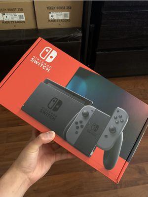 Nintendo Switch Console 3GB v2 Black/Grey for Sale in San Leandro, CA