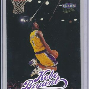 "Kobe Bryant Fleer Ultra ""The Dunk"" Rookie RC Mint! NBA Basketball Card for Sale in Houston, TX"