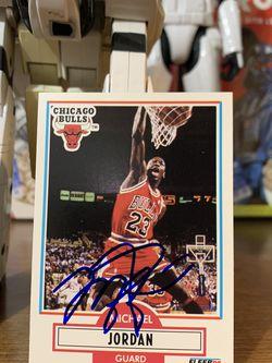 Michael Jordan Card for Sale in Los Angeles,  CA