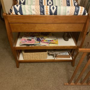 Baby Changing Table With Mat for Sale in Leesville, LA
