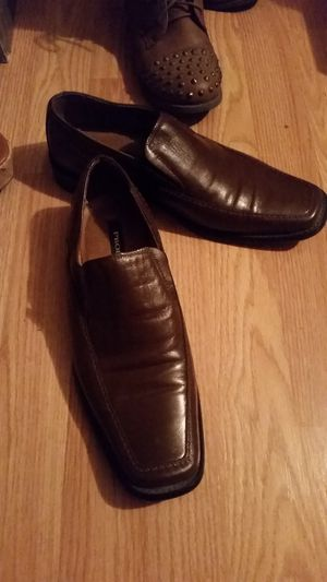 Men's leather dress shoes size 8 for Sale in Sanger, CA
