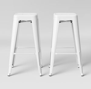 "29"" white metal bar stools new for Sale in Inver Grove Heights, MN"