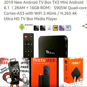Android TV Box ***** Firesticks for Sale in Orlando, FL