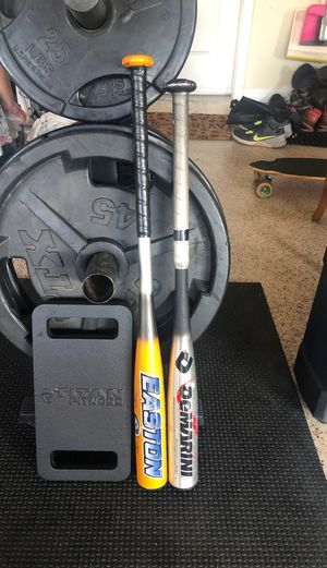 Youth baseball bats, one dimarini, one Easton for Sale in Land O Lakes, FL