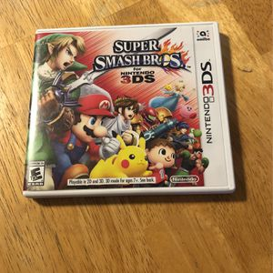 Nintendo 3Ds Smash Bros Cleaned Tested (NO RONA) $20 for Sale in Chula Vista, CA