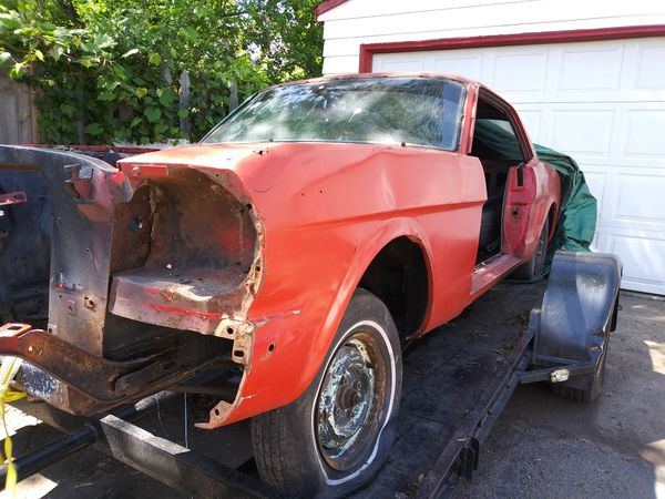 1964 1/2 mustang ,project car