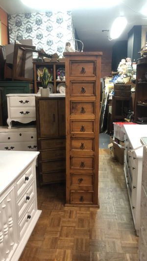 Tall skinny dresser chest perfect for a small space pick up or delivery la Mesa for Sale in San Diego, CA